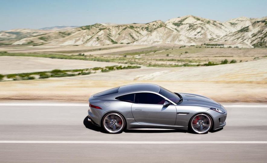 2015 Jaguar F-type coupe (artist's rendering) - Slide 10