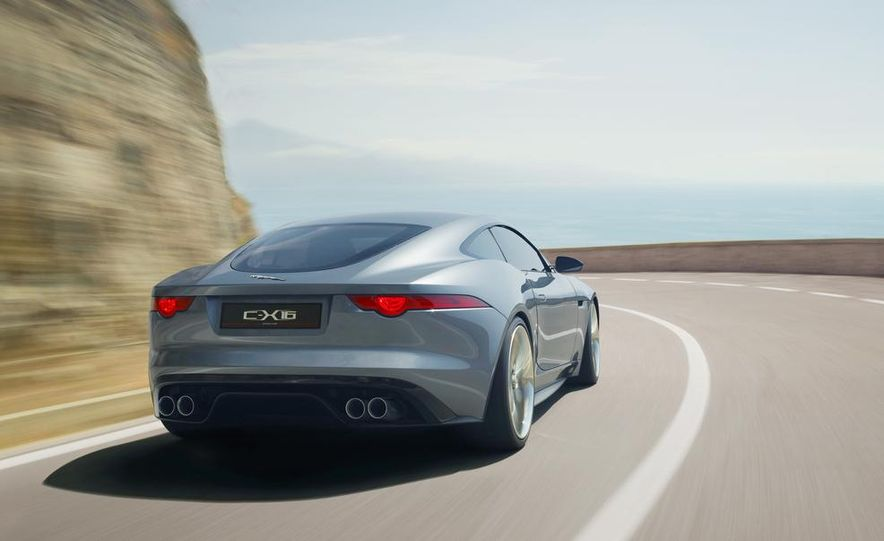 2015 Jaguar F-type coupe (artist's rendering) - Slide 11