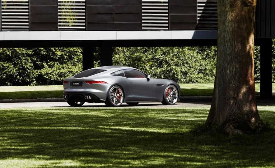 2015 Jaguar F-type coupe (artist's rendering) - Slide 13