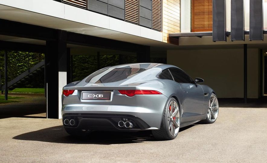 2015 Jaguar F-type coupe (artist's rendering) - Slide 14