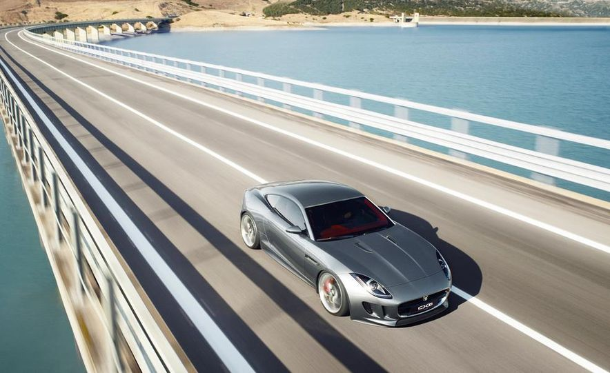 2015 Jaguar F-type coupe (artist's rendering) - Slide 16