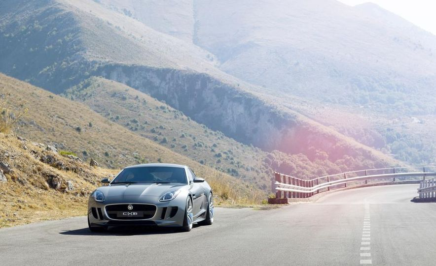 2015 Jaguar F-type coupe (artist's rendering) - Slide 17