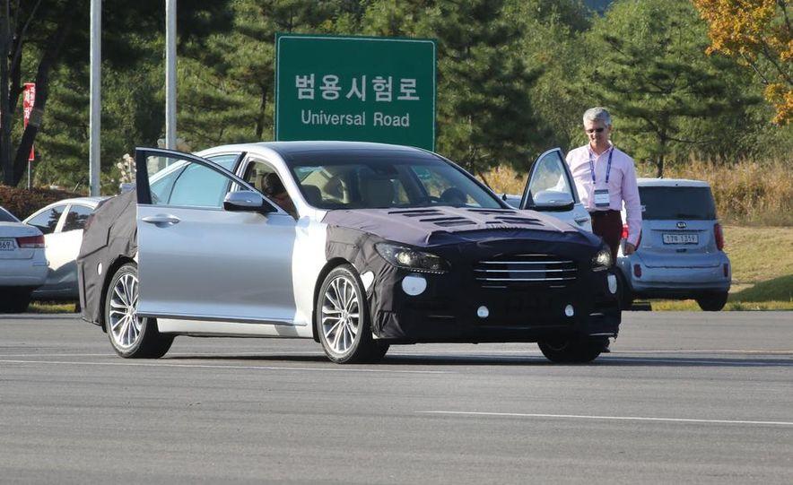 2015 Hyundai Genesis sedan - Slide 1