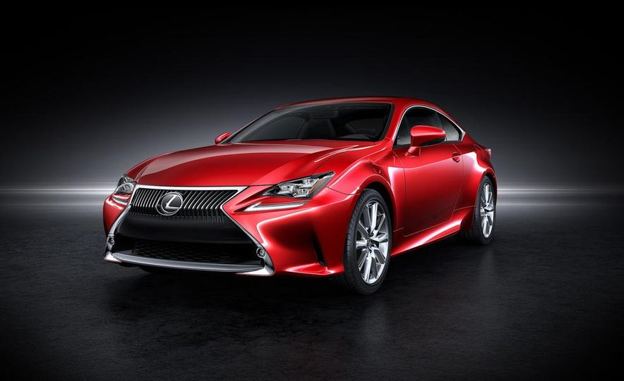2015 Lexus RC300h coupe - Slide 19