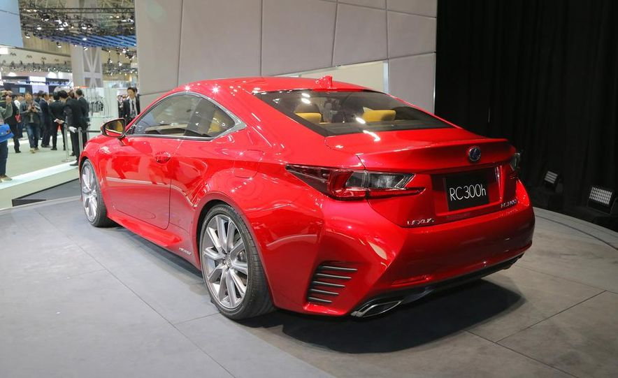 2015 Lexus RC300h coupe - Slide 7