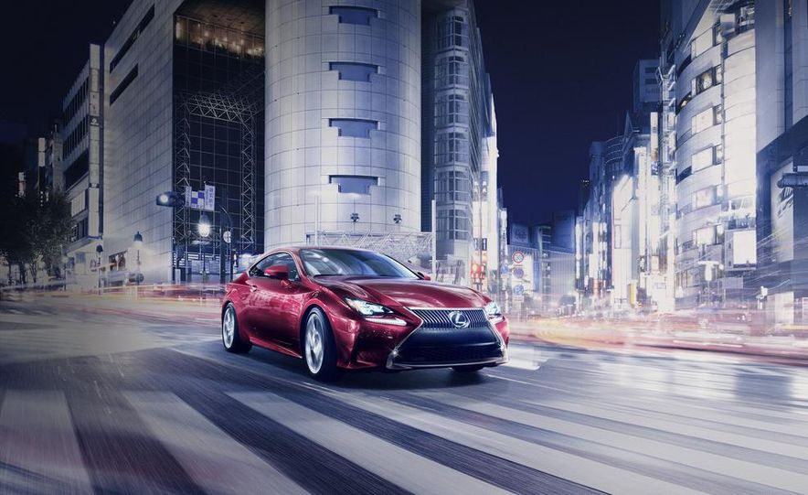 2015 Lexus RC300h coupe - Slide 16