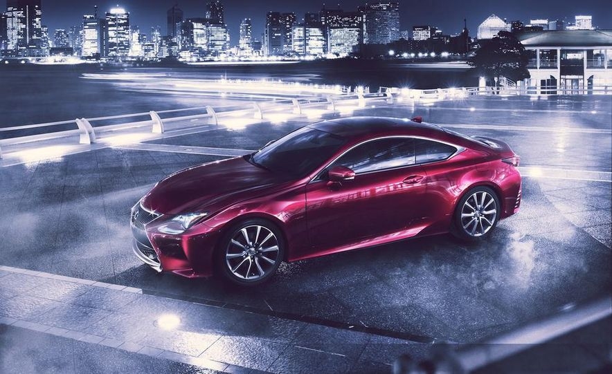 2015 Lexus RC300h coupe - Slide 18
