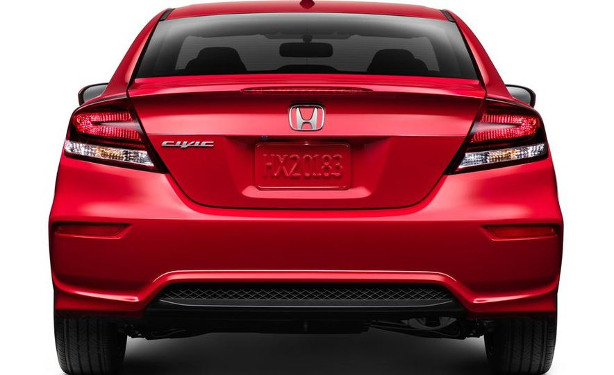 2014 Honda Civic Si coupe - Slide 17