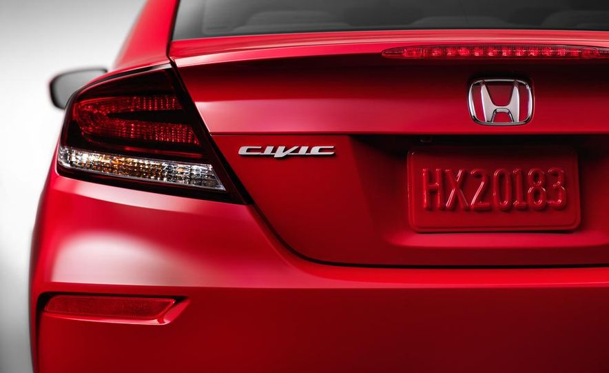 2014 Honda Civic Si coupe - Slide 21