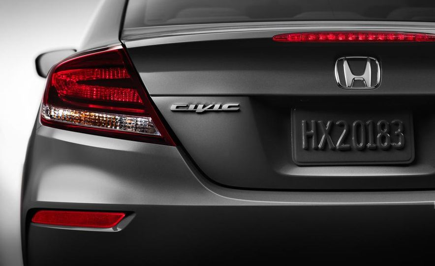 2014 Honda Civic Si coupe - Slide 27