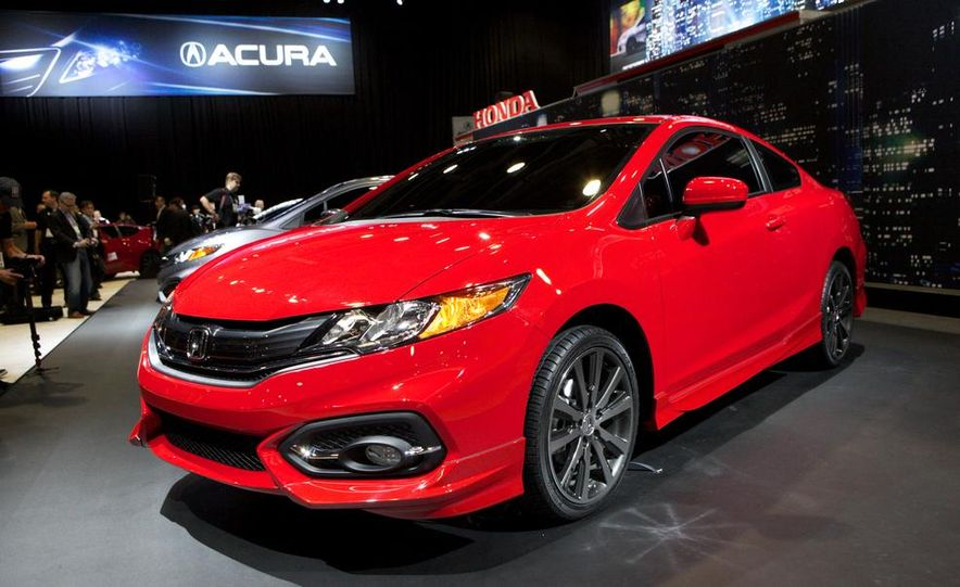 2014 Honda Civic Si coupe - Slide 8