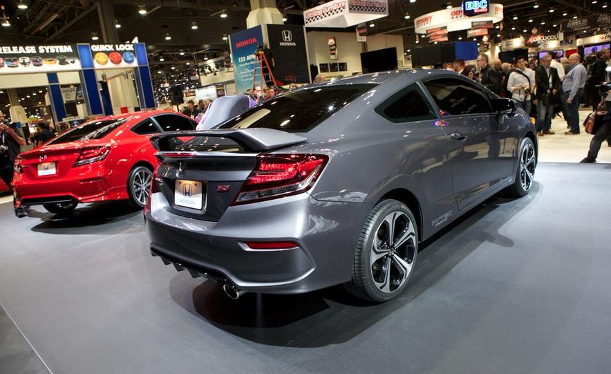 2014 Honda Civic Si coupe - Slide 5