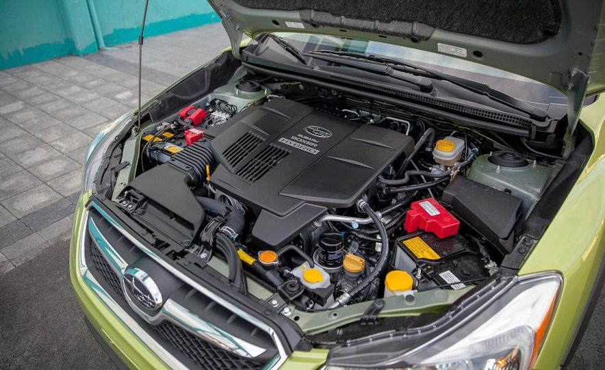 2014 Subaru XV Crosstrek hybrids - Slide 58