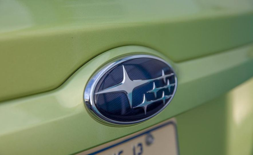 2014 Subaru XV Crosstrek hybrids - Slide 29