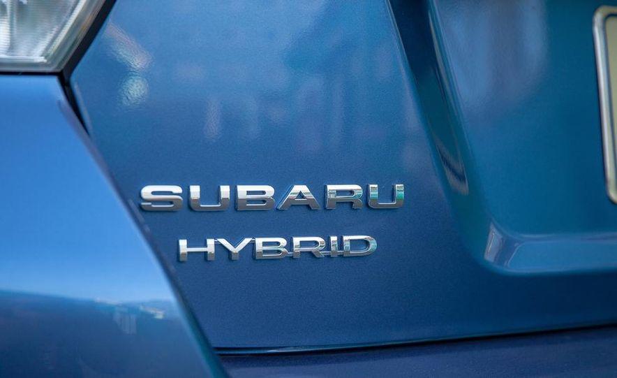 2014 Subaru XV Crosstrek hybrids - Slide 76