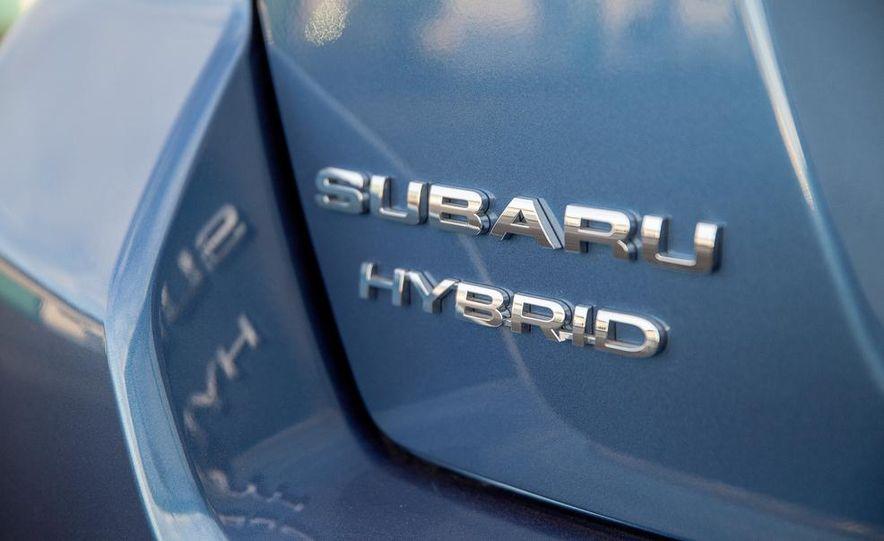 2014 Subaru XV Crosstrek hybrids - Slide 78
