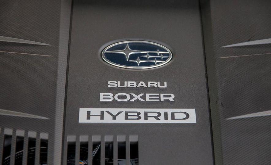 2014 Subaru XV Crosstrek hybrids - Slide 60