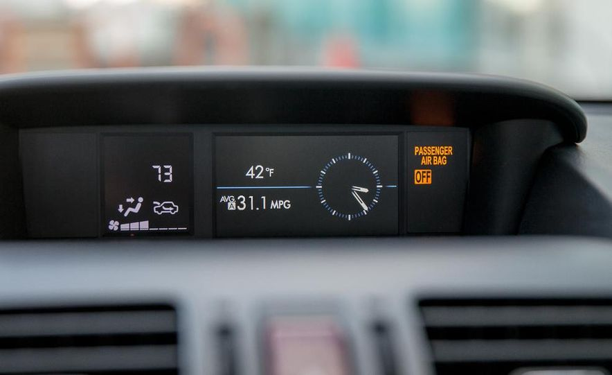 2014 Subaru XV Crosstrek hybrids - Slide 46