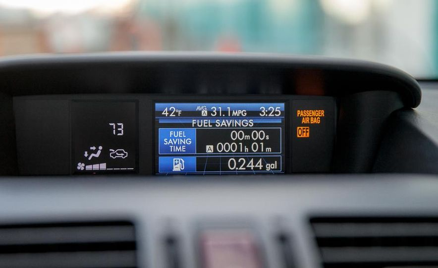2014 Subaru XV Crosstrek hybrids - Slide 48