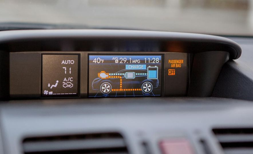 2014 Subaru XV Crosstrek hybrids - Slide 49