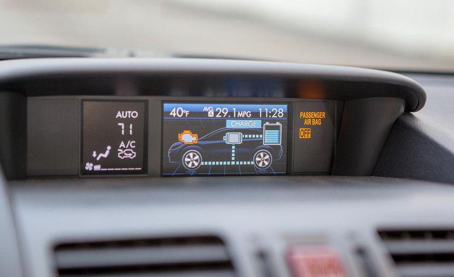 2014 Subaru XV Crosstrek hybrids - Slide 50