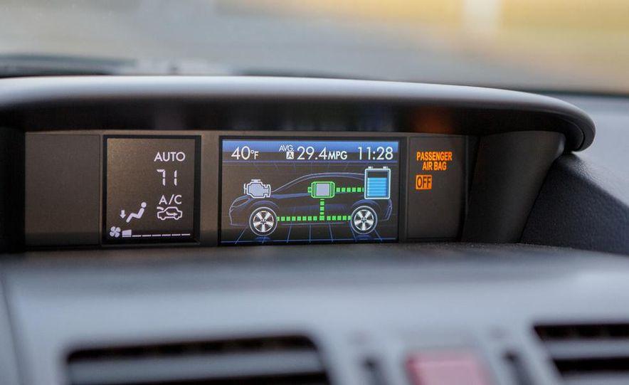 2014 Subaru XV Crosstrek hybrids - Slide 51