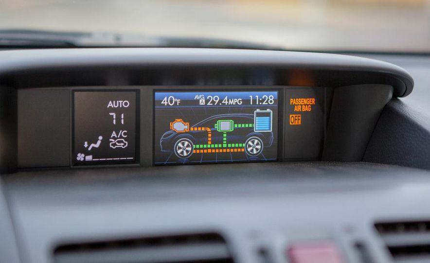 2014 Subaru XV Crosstrek hybrids - Slide 52