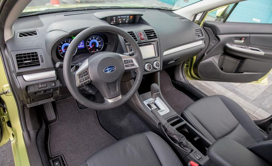 2014 Subaru XV Crosstrek hybrids - Slide 33