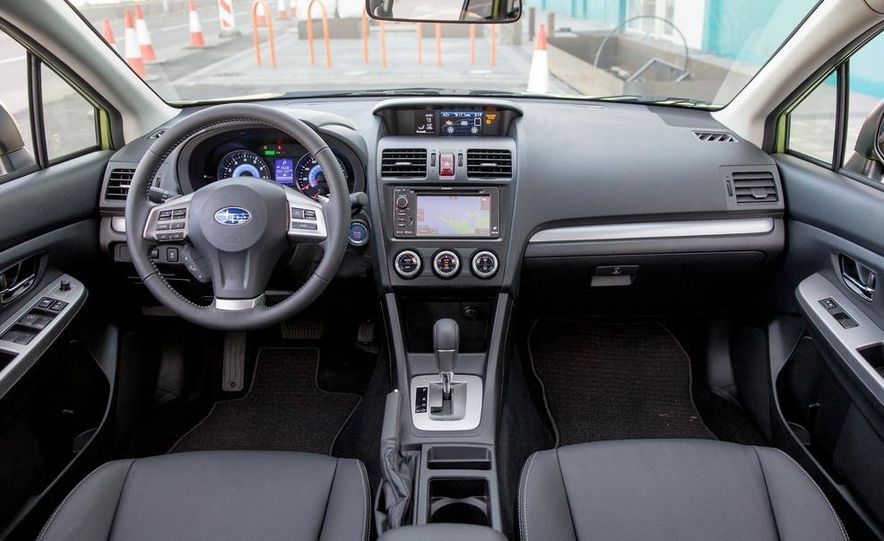 2014 Subaru XV Crosstrek hybrids - Slide 34