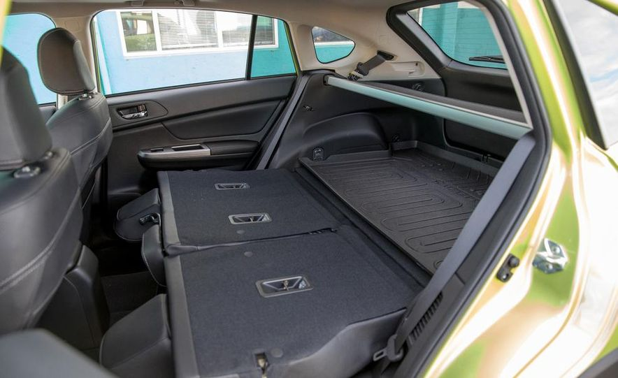 2014 Subaru XV Crosstrek hybrids - Slide 38