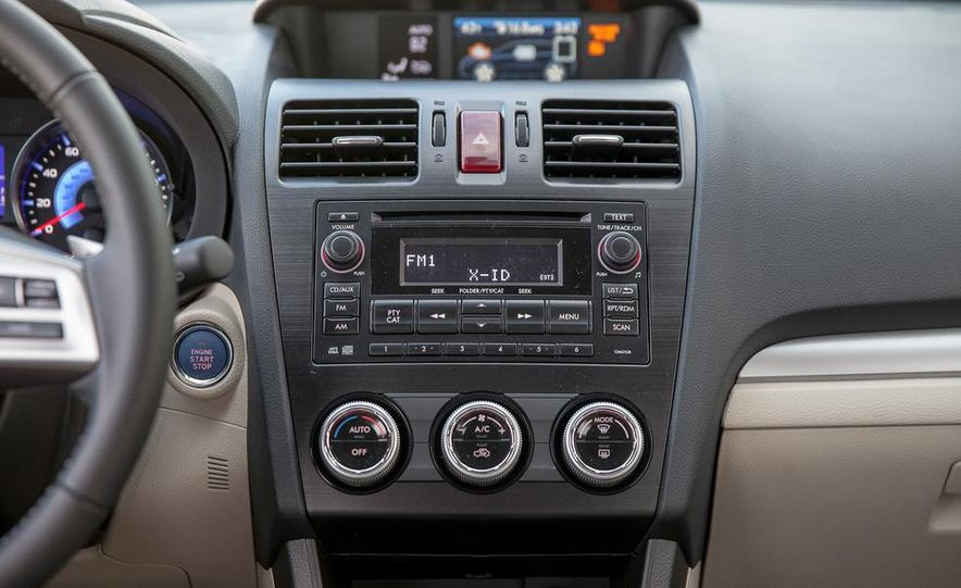 2014 Subaru XV Crosstrek hybrids - Slide 84