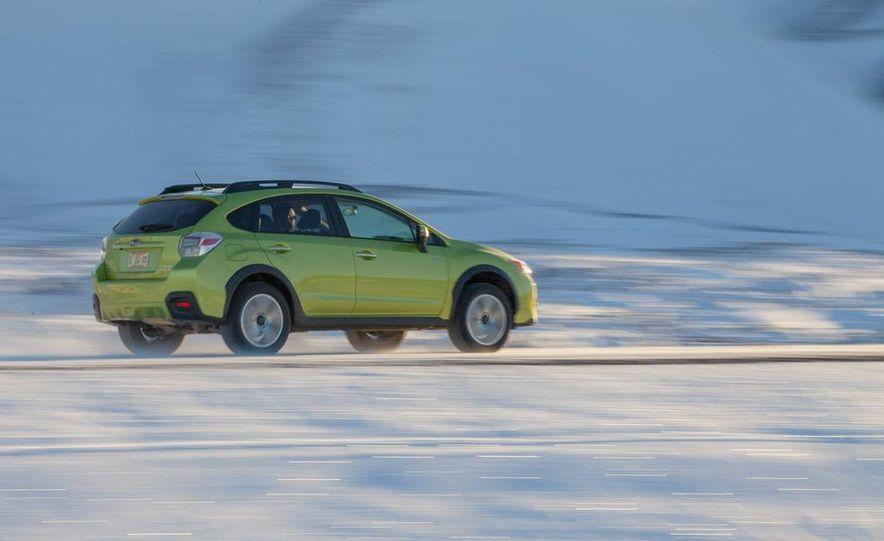 2014 Subaru XV Crosstrek hybrids - Slide 13