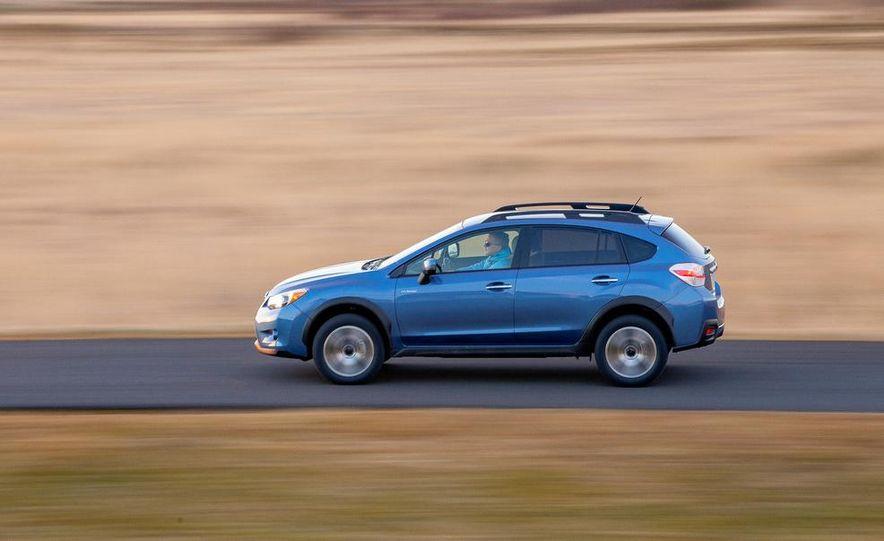 2014 Subaru XV Crosstrek hybrids - Slide 61