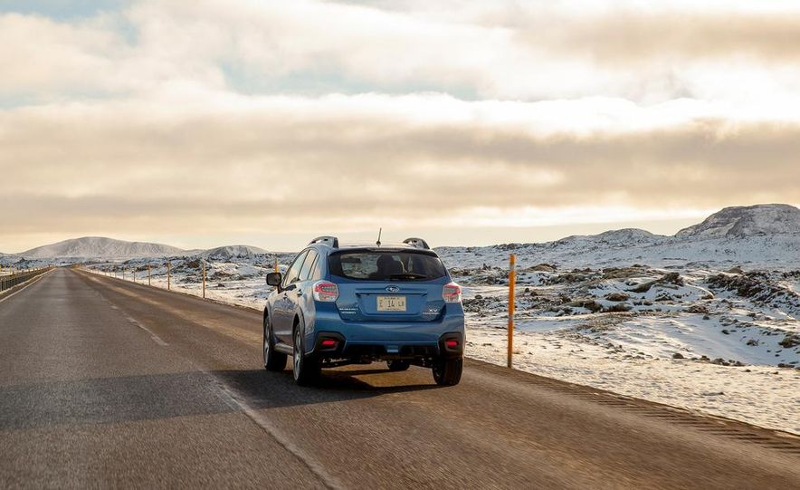 2014 Subaru XV Crosstrek hybrids - Slide 66