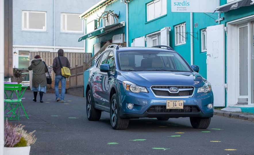 2014 Subaru XV Crosstrek hybrids - Slide 67