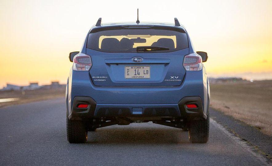 2014 Subaru XV Crosstrek hybrids - Slide 71