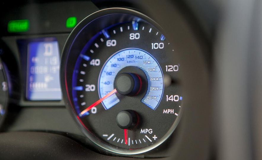2014 Subaru XV Crosstrek hybrids - Slide 42