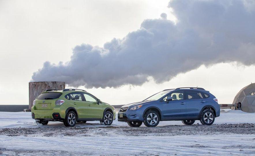 2014 Subaru XV Crosstrek hybrids - Slide 4