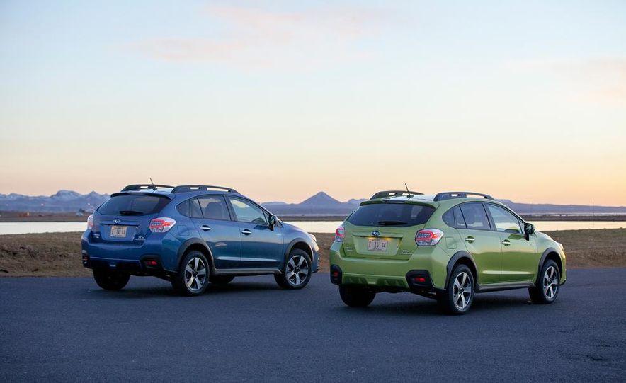 2014 Subaru XV Crosstrek hybrids - Slide 5