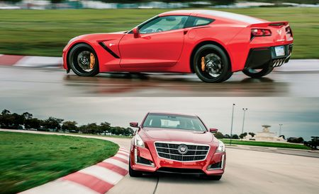 Chassis Masters: 2014 Chevrolet Corvette Stingray / Cadillac CTS