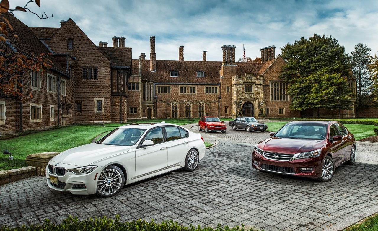 Dynasties: 2014 BMW 3- and 4-series / Honda Accord