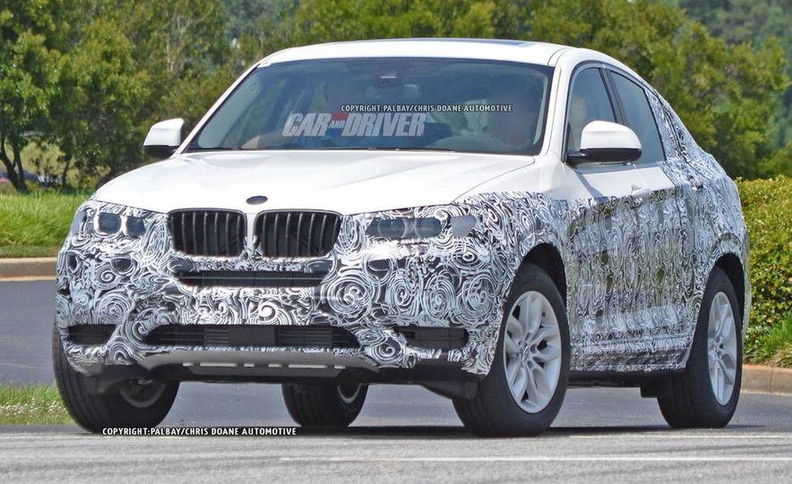 2015 BMW X4 (spy photo) - Slide 8