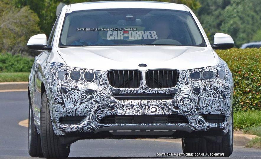 2015 BMW X4 (spy photo) - Slide 9