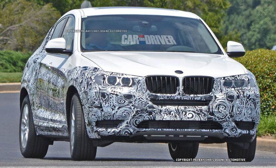 2015 BMW X4 (spy photo) - Slide 10