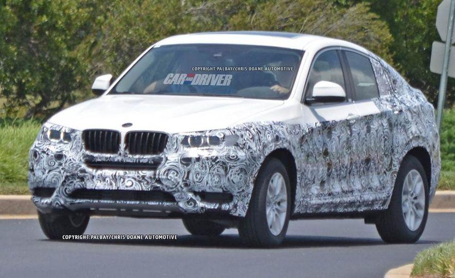 2015 BMW X4 (spy photo) - Slide 11