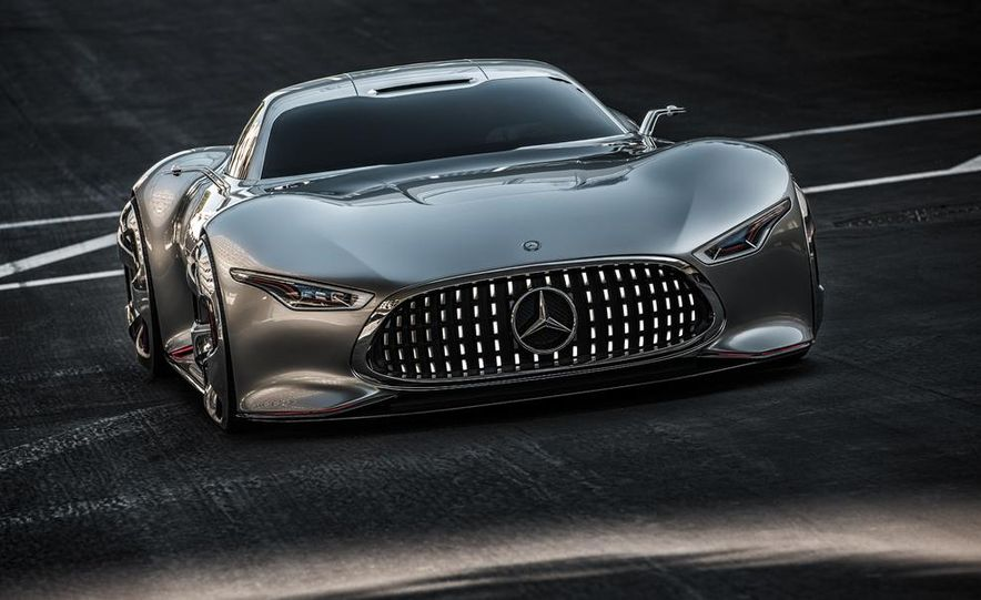 Mercedes-Benz AMG Vision Gran Turismo concept - Slide 18