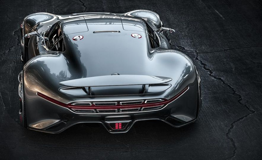 Mercedes-Benz AMG Vision Gran Turismo concept - Slide 20
