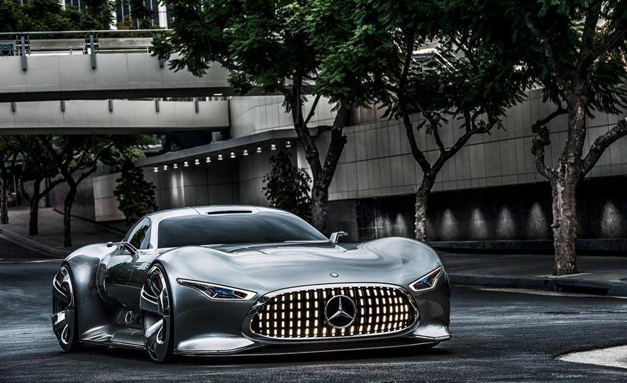 Mercedes-Benz AMG Vision Gran Turismo concept - Slide 22