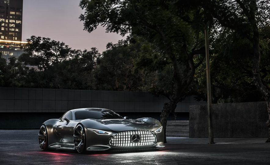 Mercedes-Benz AMG Vision Gran Turismo concept - Slide 26