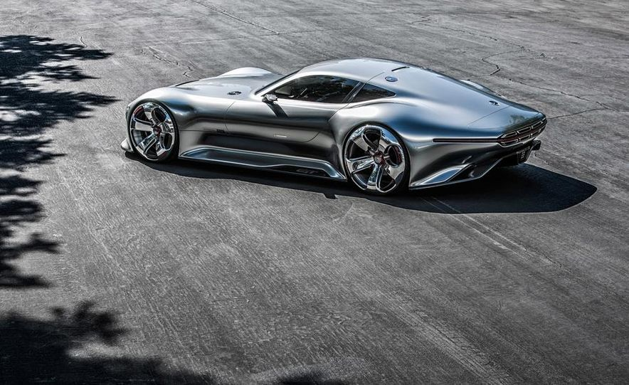 Mercedes-Benz AMG Vision Gran Turismo concept - Slide 31